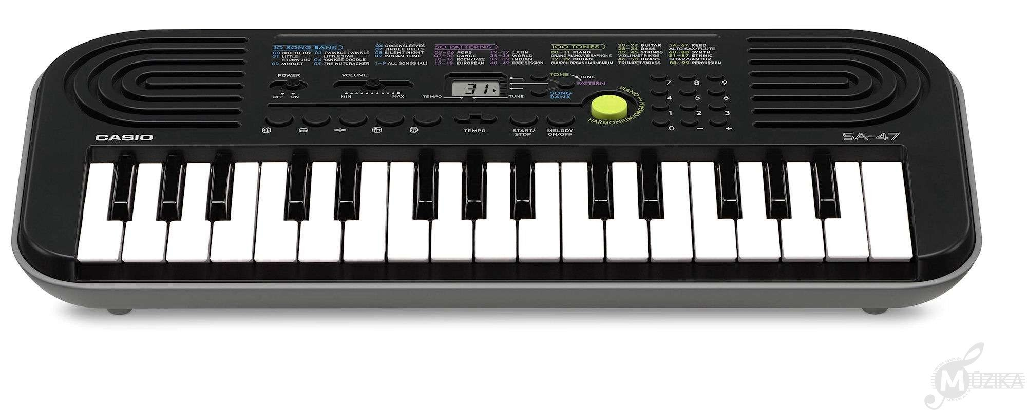 little sa-47 casio keyboard