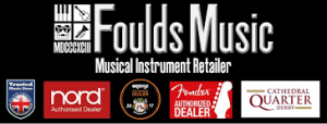 Foulds music shop logo