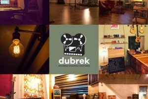 Logo and pictures of Dubrek studios